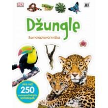 Samolepková knížka Džungle