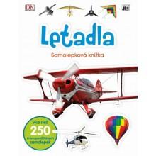 Samolepková knížka Letadla