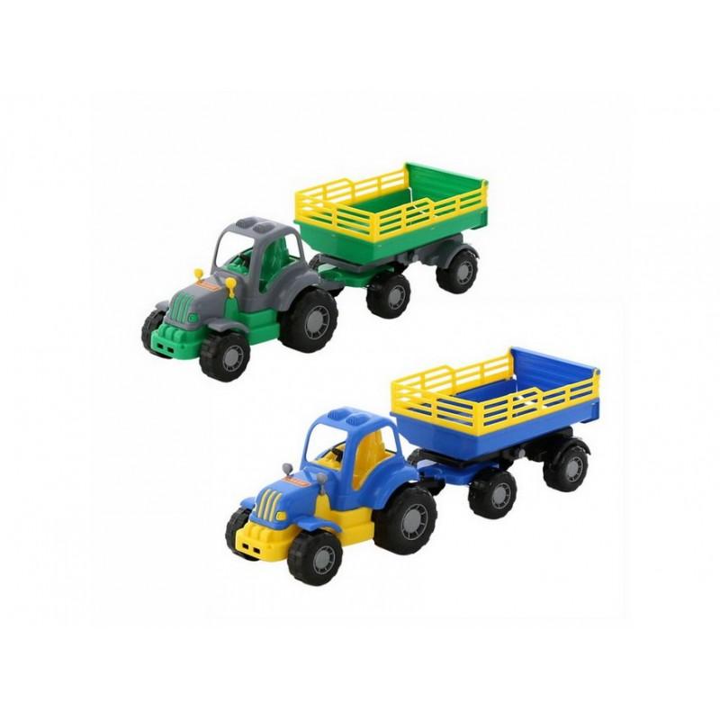 Polesie traktor Machr s přívěsem