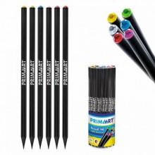 Černá tužka HB s barevným koncem