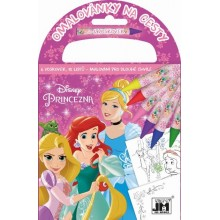 Omalovánky na cesty Disney Princezny