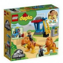 Lego 10880 Jurassic World T. rex a věž