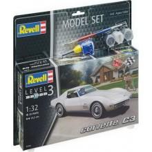 REVELL ModelSet auto 67684 - Corvette C3 (1:32)