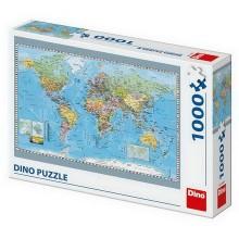 POLITICKÁ MAPA SVĚTA 1000 Puzzle