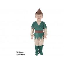 Kostým na karneval lovčí 92-104cm