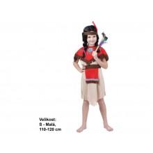 Kostým na karneval - Indiánka 110 - 120