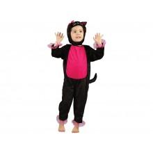 MADE Šaty na karneval - kočka 92-104 cm