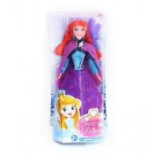 Panenka zimní království princezna zrzka