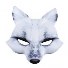 RAPPA Karnevalová maska - bílá liška