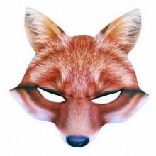 Karnevalová maska - liška