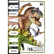 JM MODELS Omalovánky A4 Dinosauři