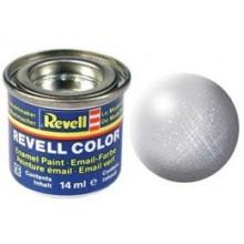 Barva Revell 32190 metalická stříbrná