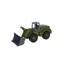 POLESIE Traktor Achát - nakladač vojenský