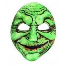 RAPPA Maska čarodějnice - zelená
