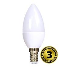 Solight LED žárovka svíčka 8W E14 3000K