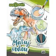 JM MODELS Vodová omalovánka A4 - Dinosauři