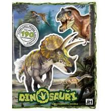 Samolepková knížka - Dinosauři