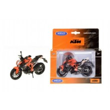 Motorka Welly KTM Super Duke R kov 12cm