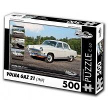 KB Barko s.r.o. PUZZLE VOLHA GAZ 21 (1967) 500 dílků