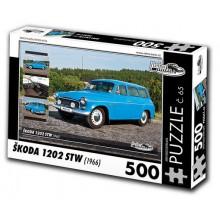 KB Barko s.r.o. PUZZLE ŠKODA 1202 STW (1966) 500 dílků