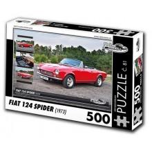 KB Barko s.r.o. PUZZLE FIAT 124 SPIDER (1973) 500 dílků