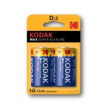 KODAK MAX KD-2 LR 20 1,5V 2X/BL