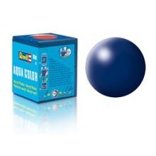 Barva Revell akrylová hedvábná tm. modrá