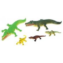 Krokodýli-sada 5 ks