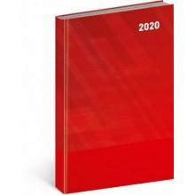 Denní diář Cambio Classic 2020 červený