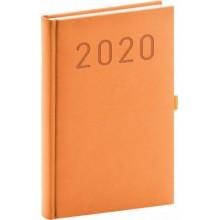 Denní diář Vivella Fun 2020 oranžový