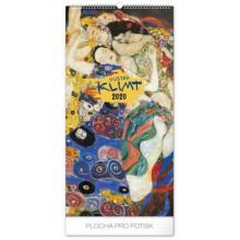 Nástěnný kalendář Gustav Klimt 2020