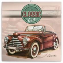 Poznámkový kalendář Classic Cars 2020
