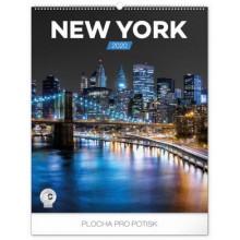 Nástěnný kalendář New York 2020