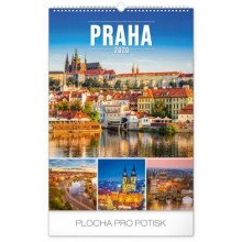 Nástěnný kalendář Praha 2020