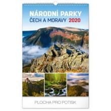 Nástěnný kalendář Národní parky ČR
