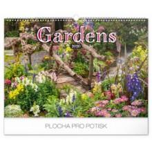 Nástěnný kalendář Zahrady 2020