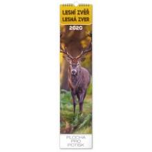 Nástěnný kalendář Lesní zvěř -Lesná zver
