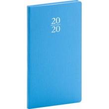 Kapesní diář Capys 2020 světle modrý