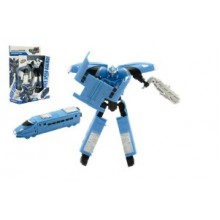 Transformer vlak/robot plast