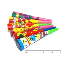 Trumpetka papírová 6ks 19cm