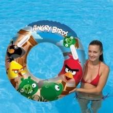 Nafukovací kruh velký Angry Birds 91cm