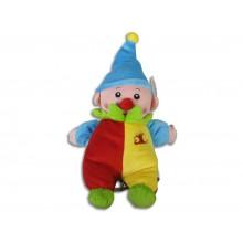 Plyšový klaun na natažení 28 cm