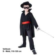 Šaty na karneval - Bandita 110-120 cm