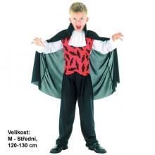 MADE Šaty na karneval - Upír 120 - 130 cm