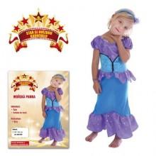MADE Šaty na karneval - Mořská panna 92 - 104