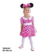 MADE Šaty na karneval - Myšička 92 - 104 cm