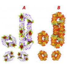 RAPPA Sada Hawii s květy 2druhy