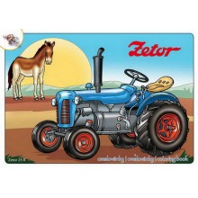 Omalovánky Traktory