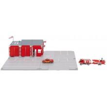 OLYMPTOY SIKU World - Set požární stanice 16 dílů