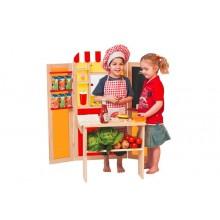 OLYMPTOY WOODY Kombi dětská prodejna - pošta